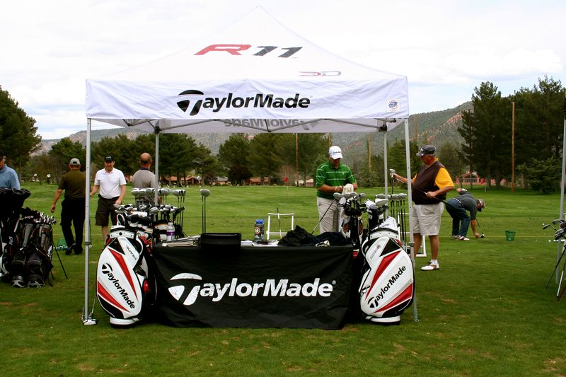 TaylorMade booth
